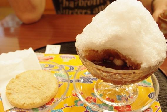 20110430 ぜんざい&塩せんべい.jpg