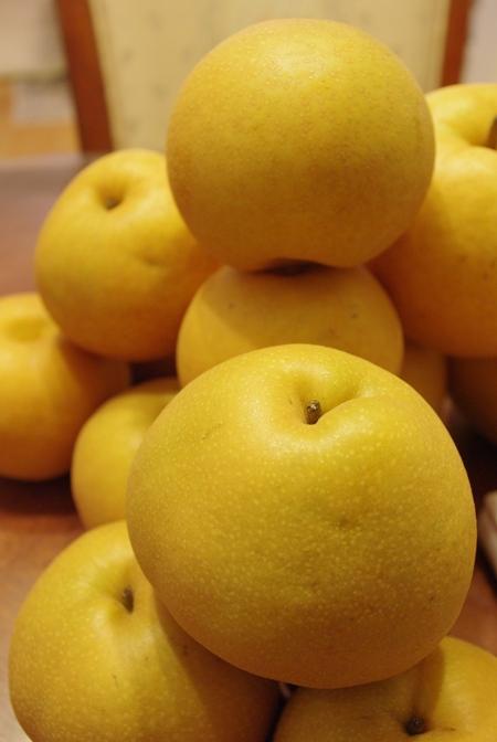 20101011 収穫した梨.jpg