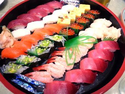 寿司の盛合せ