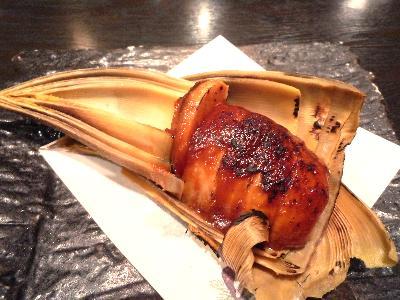新筍の味噌焼き