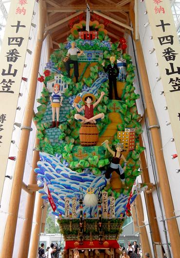 2011博多駅商店連合会飾り山 見送り