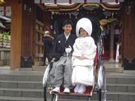 櫛田神社婚礼20070217