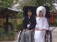櫛田神社婚礼20060918
