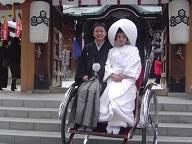 平成18年最初の結婚式