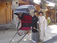 櫛田神社前撮り20070211