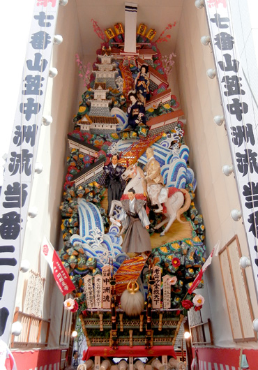 2011中洲流飾り山 見送り