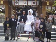 櫛田神社婚礼20070403