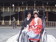 八坂神社婚礼