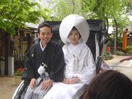 櫛田神社婚礼20070422 三光園様