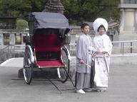 護国神社婚礼前撮り