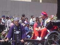 博多どんたくパレード2(山崎福岡市長)