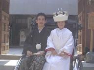櫛田神社婚礼20060903