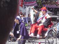 博多どんたくパレード3(麻生福岡県知事)