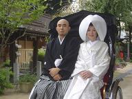 櫛田神社婚礼20060917