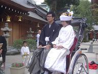 櫛田神社婚礼20061015
