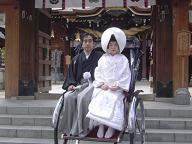 櫛田神社婚礼20070318