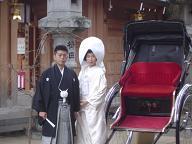 櫛田神社前撮り20070126