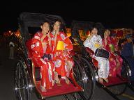 二荒山神社登拝祭の夜