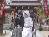 櫛田神社婚礼20061122