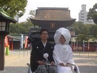 筥崎宮婚礼20061114