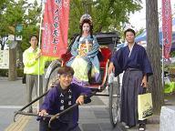 姫路城・お姫様イベント1
