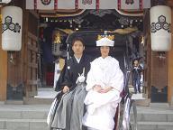 櫛田神社婚礼20061210