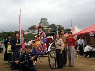 姫路城・お姫様イベント2