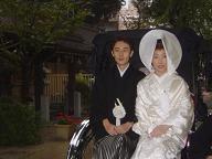 櫛田神社婚礼20061111