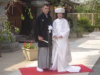 櫛田神社婚礼20060930