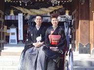 櫛田神社婚礼20070317