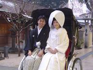 櫛田神社婚礼