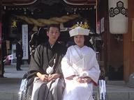 櫛田神社婚礼20061105