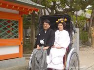 筥崎宮婚礼20070415