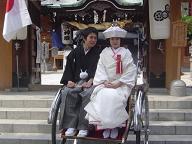 櫛田神社挙式