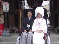 櫛田神社婚礼20070121
