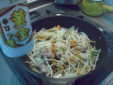 肉野菜炒め?