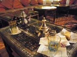 モロッコ式カフェ