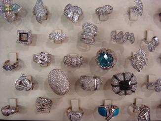 指輪のコレクション