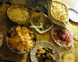 スペインの家庭料理