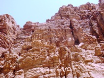ムジブの岩壁