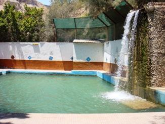 女性専用の温泉の様子