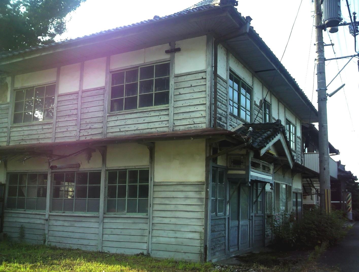 宇陀市榛原の旧「伊那佐郵便局」2