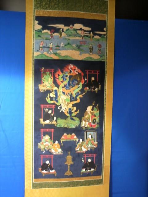 餅飯殿財団所蔵の吉野曼荼羅図