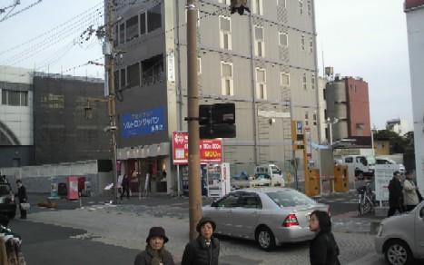 旧奈良銀行本店の周辺