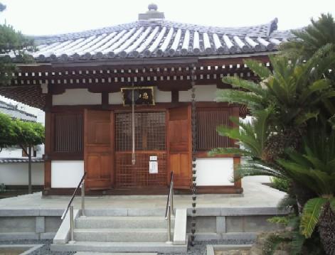 阿弥陀寺境内の悲田院観音堂
