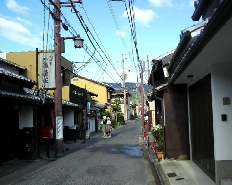 奈良町公納堂町の通り