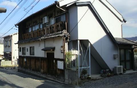 旧木辻遊郭「初音旅館」の建物