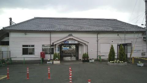 京終駅の駅舎