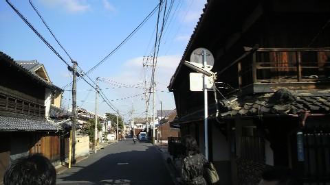 八木の札の辻(中街道と横大路)