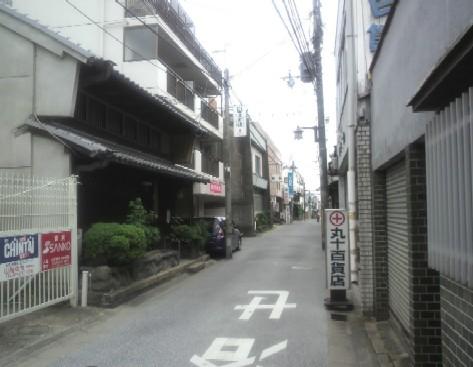 登録有形文化財旧井田邸に向かう道1